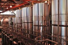 utrustning som gör wine arkivfoton