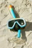 utrustning som snorkeling Royaltyfria Bilder