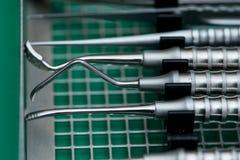 utrustningen av tandläkekonstomsorg Arkivbilder
