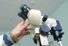 Utrustningen för gastroscopy Fotografering för Bildbyråer