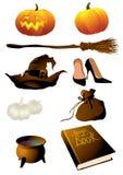 utrustninghäxa stock illustrationer
