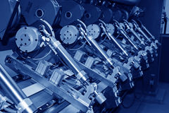 utrustningmaskineri mal paper precision arkivfoton