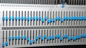utrustningmedel som registrerar ljudet Royaltyfri Bild