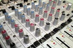 utrustningmusikljud Arkivbild