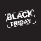 Utrymme för kopia för baner för Black Friday Sale ferieshopping royaltyfri illustrationer