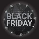 Utrymme för kopia för baner för Black Friday Sale ferieshopping stock illustrationer