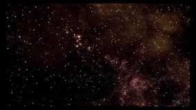Utrymme 2232: flyga till och med stjärnafält i djupt utrymme royaltyfri illustrationer