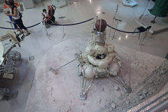 Utrymmemuseum VVC moscow russia Arkivbild