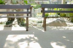 Utrymmen av två stolar Royaltyfri Foto
