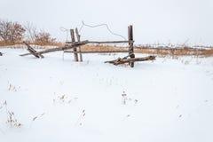 Utrymmen och staket Royaltyfria Foton