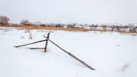 Utrymmen och staket Arkivfoto