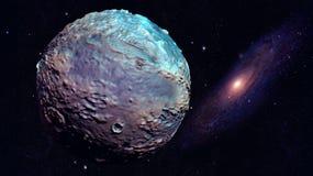 Utrymmeplanet Arkivfoto
