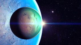 Utrymmeplanet Royaltyfri Fotografi