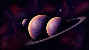 Utrymmeplanet Royaltyfri Bild