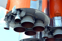 Utrymmeraketmotor Fotografering för Bildbyråer