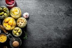 Utrzymani krajowi warzywa obraz stock