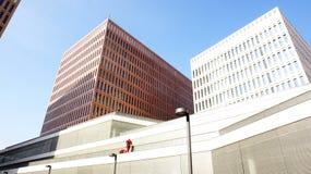 Utrzymanie budynków miasto sprawiedliwość Obraz Royalty Free