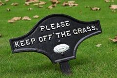 utrzymanie trawy Obraz Royalty Free