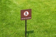 utrzymanie trawy Obrazy Royalty Free