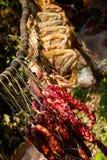 Utrzymany mięso Fotografia Stock