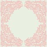Utsökt ram, dekorativ design för klotterstil Royaltyfri Foto