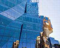 UTS Sydney - Frank Gehry Building Stock Photography