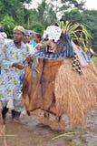 UTSEENDE AV AFRIKANSKA MASKERINGAR Royaltyfri Foto