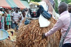 UTSEENDE AV AFRIKANSKA MASKERINGAR Royaltyfri Fotografi