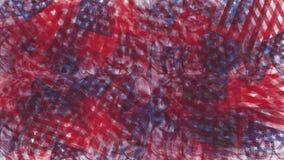Utseende för Luma matte övergångsUSA flagga stock video