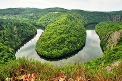 Utsikt av floden Royaltyfri Bild
