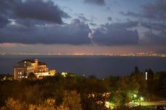 Utsikt av Sorrento Italien Arkivbild