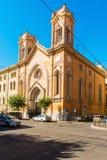 Utsikt da för Chiesa dell'immacolataall'esquilino via ninobixio in Royaltyfria Bilder