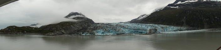 Utsikt för glaciärfjärd arkivfoto