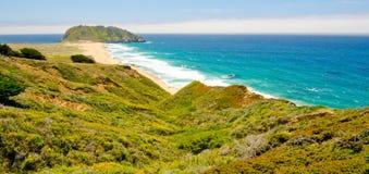 Utsikt för Kalifornien statrutt 1 royaltyfri foto