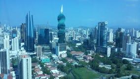 Utsikt Panama Royaltyfri Fotografi