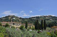 Utsikt su Fiesole 2 Arkivfoton