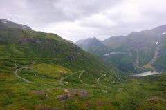 Utsikten Norge arkivfoto