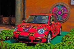 utskjutande cabriolet nya volkswagen Royaltyfri Bild