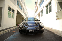 utskjutande nya volkswagen Royaltyfria Bilder