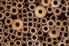 Utskottsvaran för den pappersKraft kärnan för återanvänder Royaltyfri Fotografi