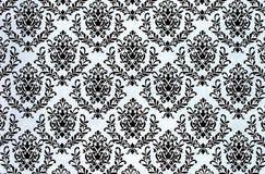 Utskrivaven damast repetitionmodellbakgrund Arkivfoto