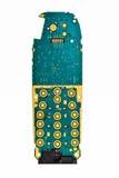 utskrivaven digital mobil telefon för bräde Royaltyfria Foton