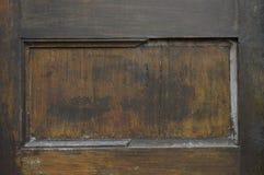 Utslagen gammal dörr Royaltyfri Bild