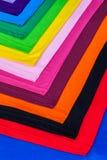 utslagsplatsskjortor som göras från bomull och fiber Royaltyfri Bild