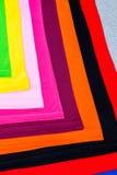 utslagsplatsskjortor som göras från bomull och fiber Royaltyfri Foto