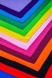 utslagsplatsskjortor som göras från bomull och fiber Arkivbilder