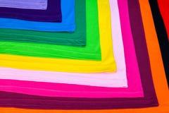 utslagsplatsskjortor som göras från bomull och fiber Arkivfoton