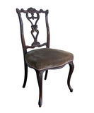 utsmyckad antik stol Royaltyfri Fotografi