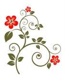 utsmyckad blomma Royaltyfria Bilder