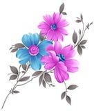 Utsmyckad blommagrupp Arkivfoto